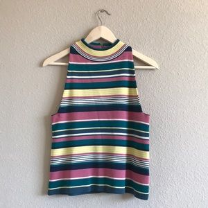 NWT Anthropologie Maeve Colorful Sweater Tank